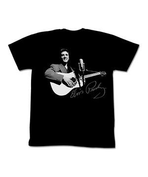 This Black Encore Elvis Tee - Adult by American Classics is perfect! #zulilyfinds