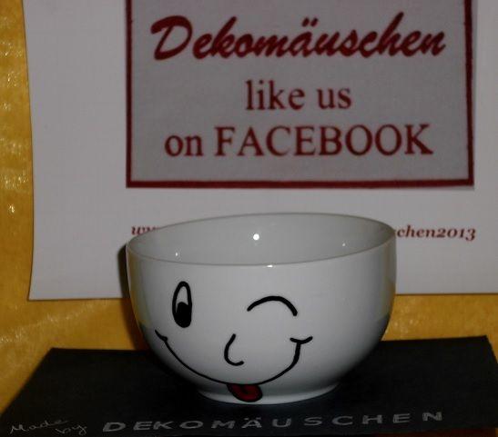 Bitte lächeln, Müslischale :)