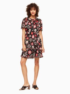 f08322df3d casa flora flutter sleeve dress