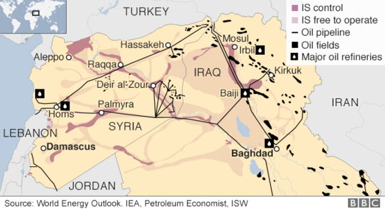 Islamic State And The Crisis In Iraq And Syria In Maps Bbc News