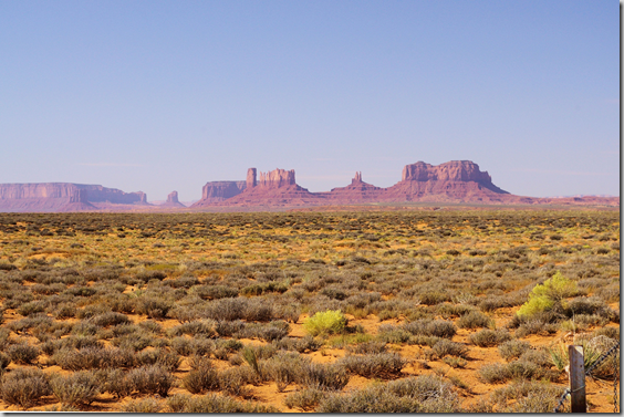 October 1, 2011 – A single vehicle accident on US highway 163 in Southern Utah delayed us for a time until the small Class B van camper was loaded on a wrecker. We were nearing the Monument Valley Navajo Tribal Park