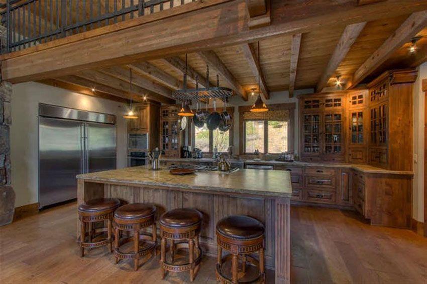 Best 35 Beautiful Rustic Kitchens Design Ideas Rustic 640 x 480