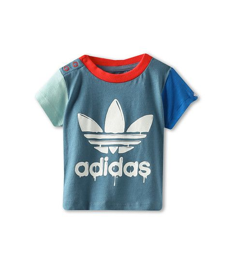 f1318caaf274f adidas Originals Kids Infant Fun Trefoil Tee (Infant/Toddler ...
