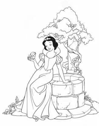 Free Printable Disney S Princess Coloring Book Download Pdf Free Disney Coloring Pages Snow White Coloring Pages Princess Coloring Pages