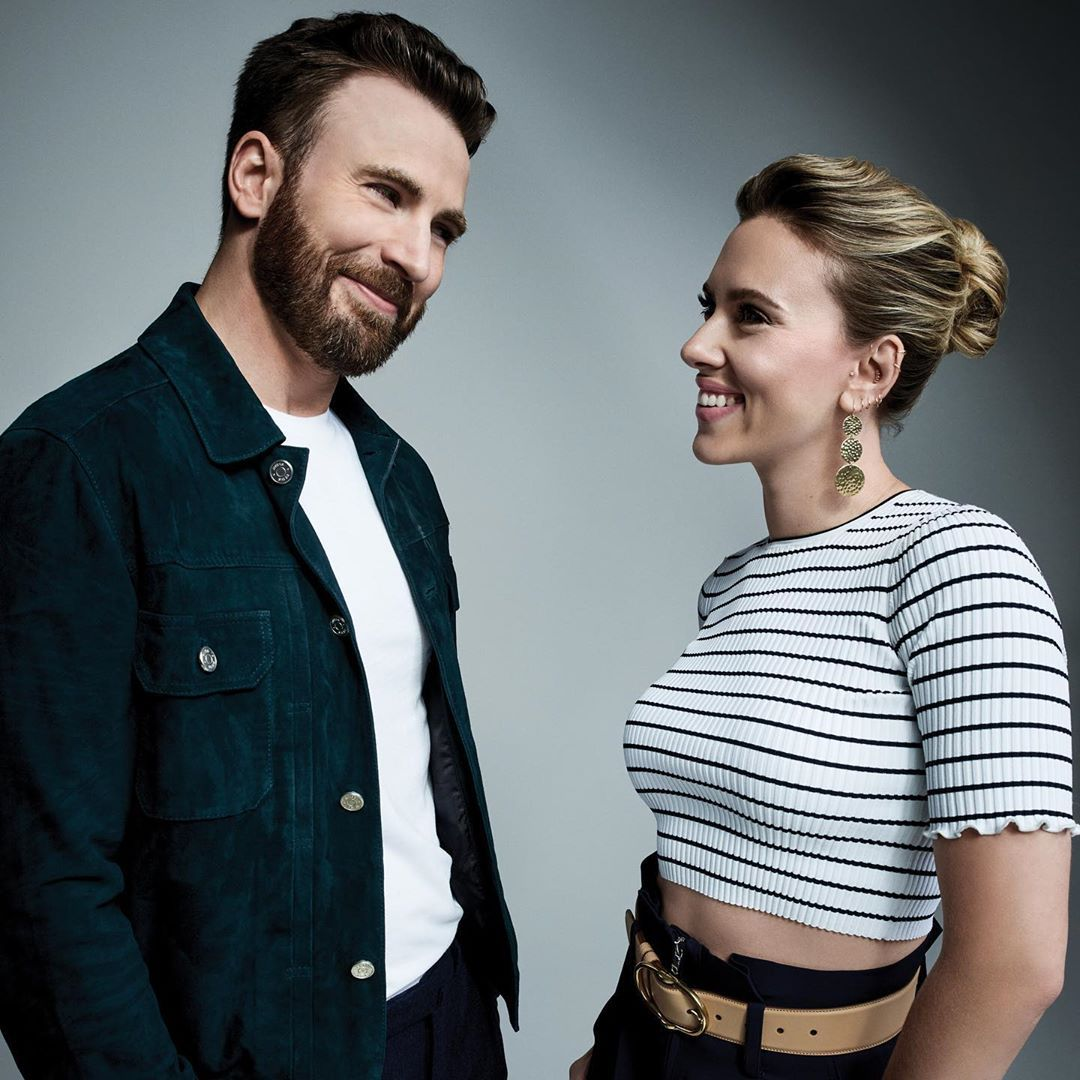 Mi Piace 3 436 Commenti 32 Variety Variety Su Instagram It S A Chris Evans And Scarlett Johansson Reunion Link In Bio To Watch The Celebrita Attore