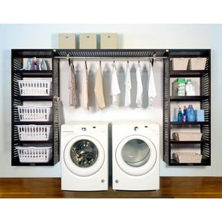 Shop for john louis home premier espresso solid wood laundry shop for john louis home premier espresso solid wood laundry organizer get free shipping at overstock your online home improvement outlet store solutioingenieria Gallery