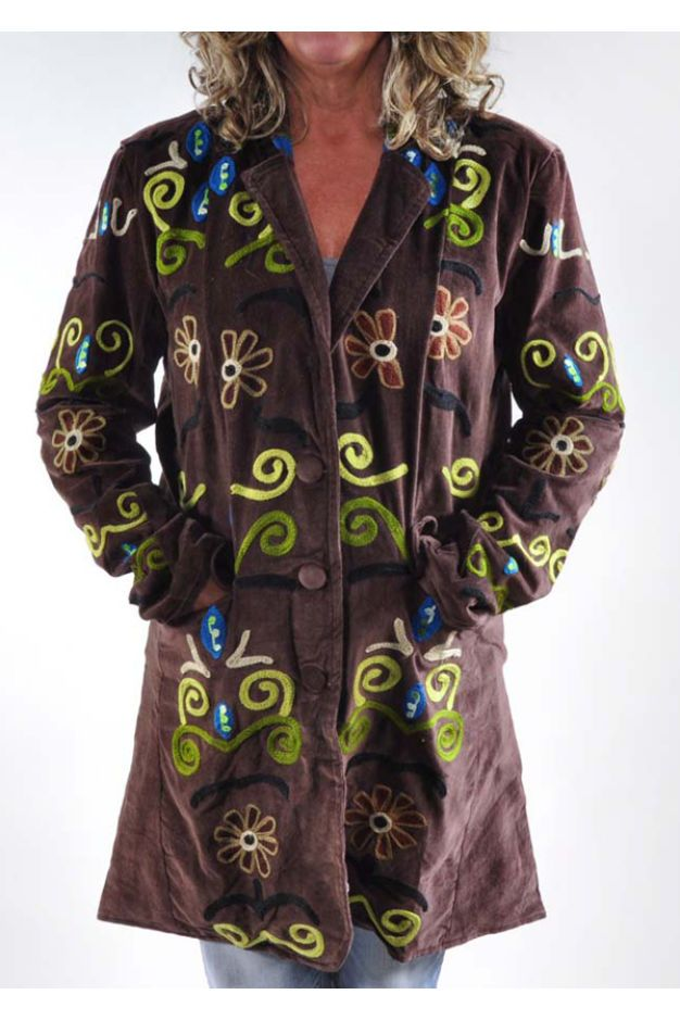 Kashmiri Embroidered Jacket