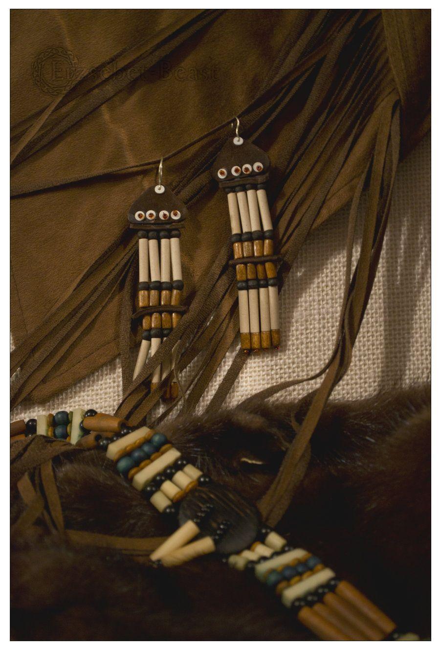 Earrings for the choker by erzsebet-beast.deviantart.com on @DeviantArt