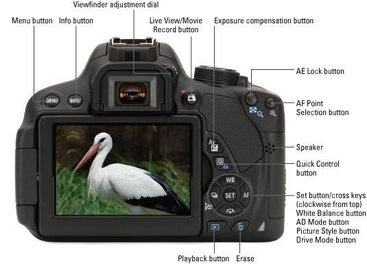 canon eos 700d instructions