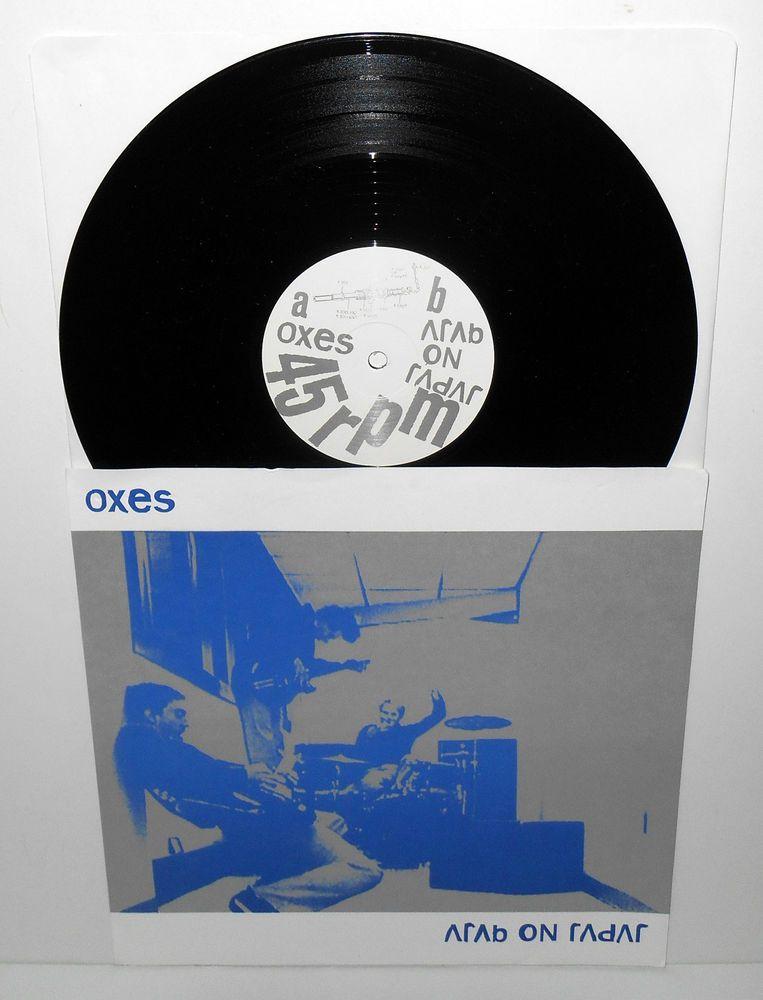 Oxes Arab On Radar 10 Vinyl Record On Wantage Records Vinyl Records Records Lp Albums