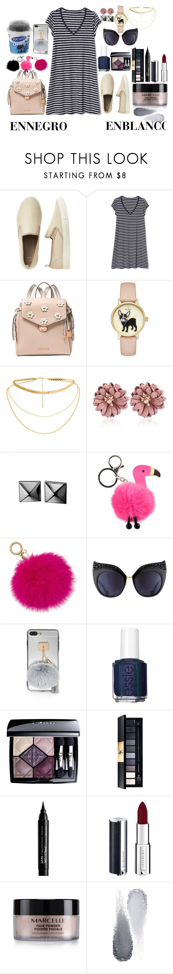 """Untitled #141"" by amor-de-pandicornios on Polyvore featuring Gap, Michael Kors, Waterford, Molo, Anna-Karin Karlsson, Essie, Christian Dior, John Lewis, NYX and Givenchy"
