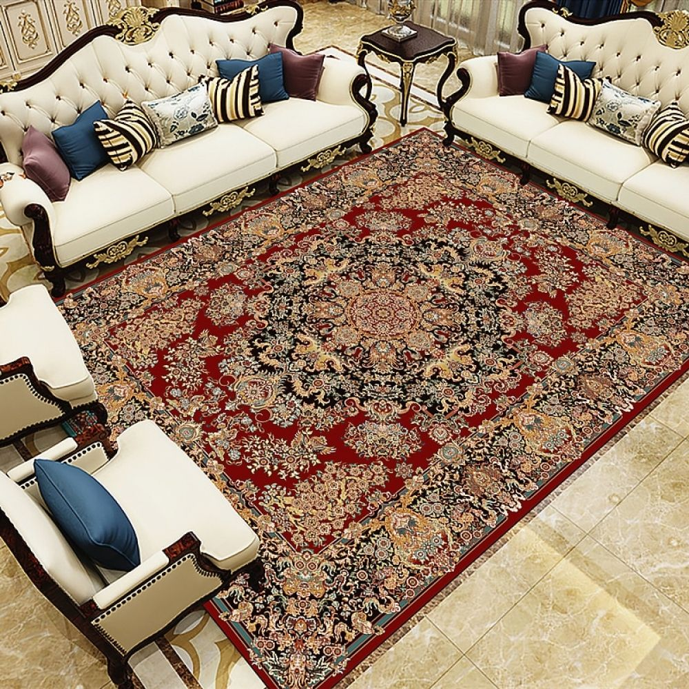 India Persian Soft Area Rug Living Room