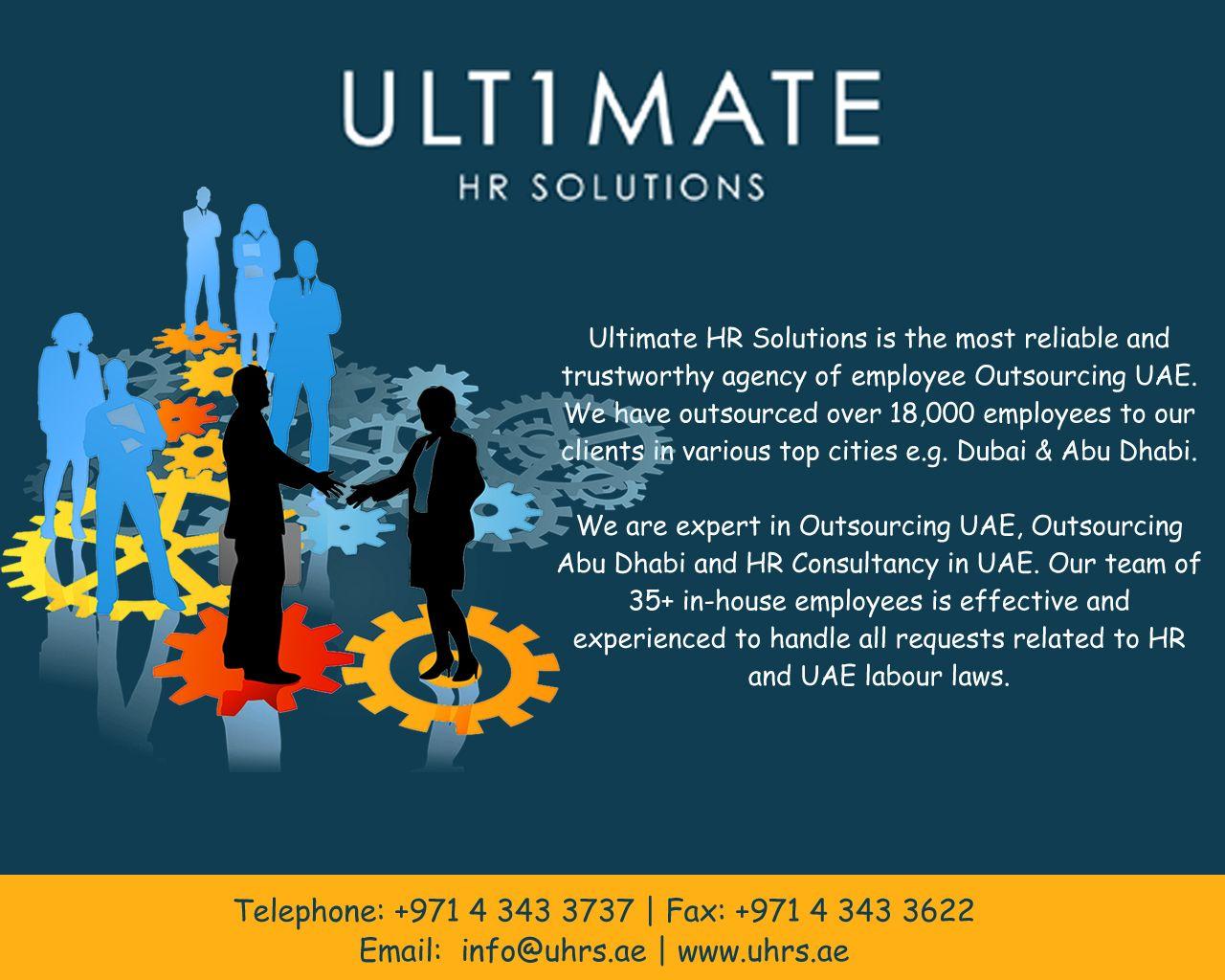 Outsourcing Dubai Outsourcing Abu Dhabi Ultimate HR
