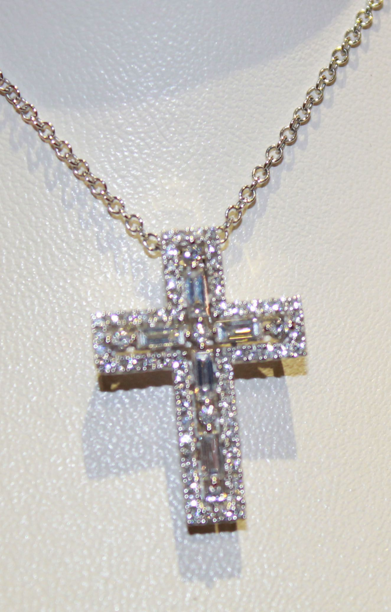 Diamond Cross Necklace Normal Price 3890 50 Off 1945: Wedding Band With Cross Pendant At Websimilar.org