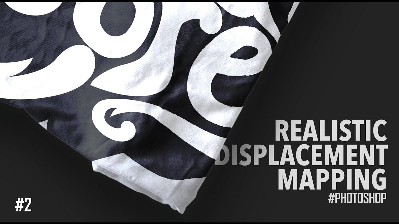 Download Photo Realistic Displacement Mapping Photoshop Tutorial T Shirt Mockup Photoshop Tutorial Photoshop Shirt Mockup