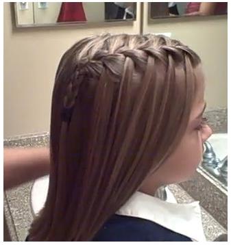 imagenes de peinados de trenzas para nia paso a paso