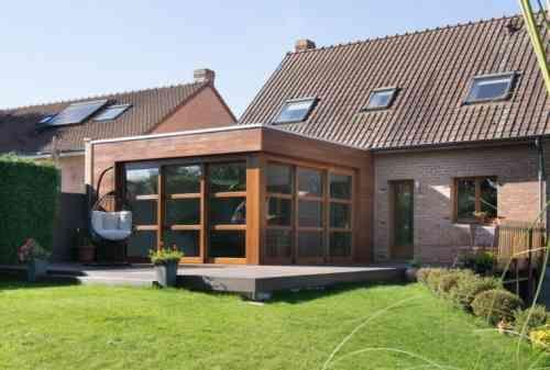 Extension maison bois : moderne et fonctionnelle | Anbau, Hausumbau ...