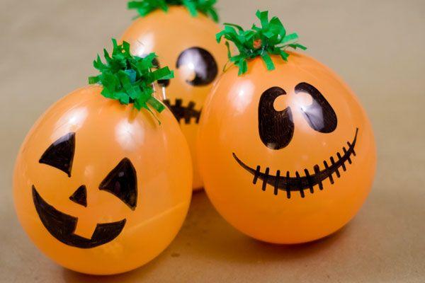 Globos De Calabazas Para Halloween A Happy Day By Ofmara Balloon Diy Halloween Balloons Balloons