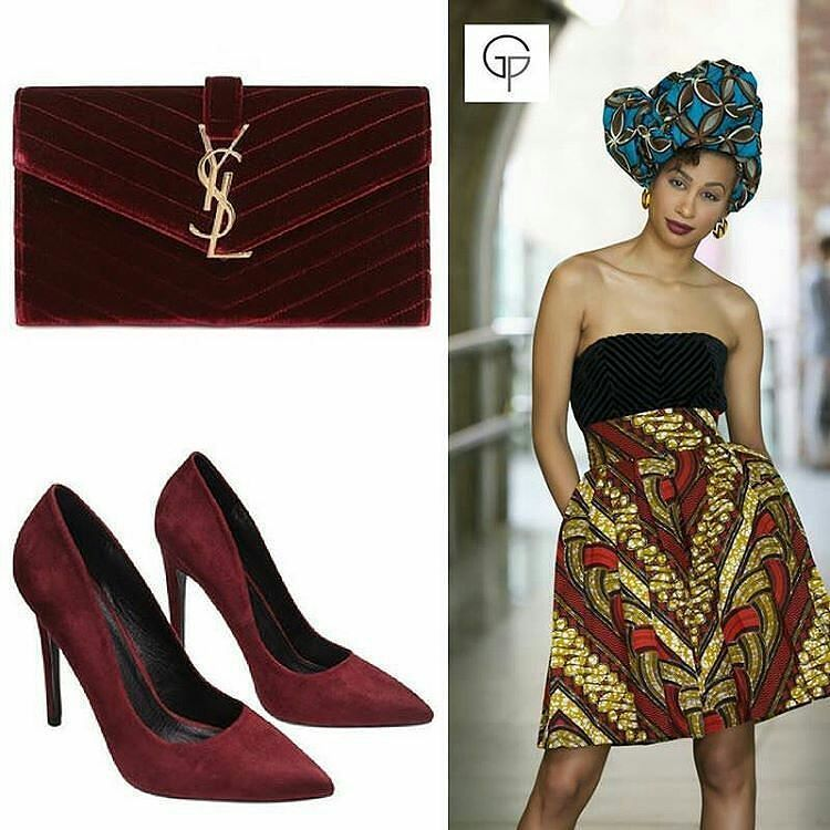 @gitasportal -  The weekend has begun! Welcome to our new Friday feature!  For #fashionfriday we will share with you our fashion styling tips trend ideas and how to put your Gitas Portals outfit together.  Here we recommend for the winter season you pull the #winterwine #berry colour from the print and #accessorise it with a classy #clutchbag and #killerheels  The Gitas Portal woman speaks style in all she wears so accessories have to represent that image too to complete an outfit.  You can…