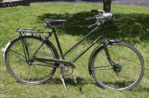 Vintage Ladies Raleigh Bike Bicycle 3 Speed Sturmey Archer Brooks Saddle Raleigh Bikes Bicycle Bicycle Bike