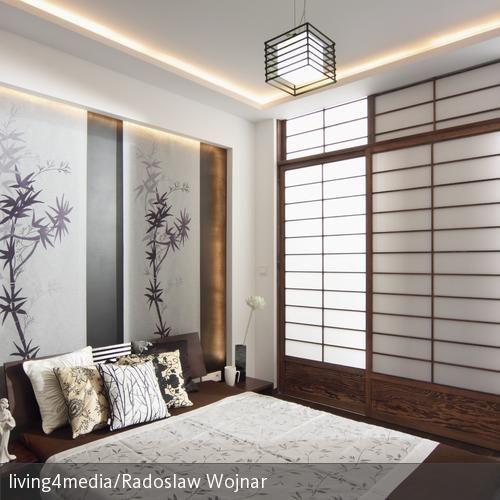 Das Schlafzimmer im JapanStil wird durch einen besonderen