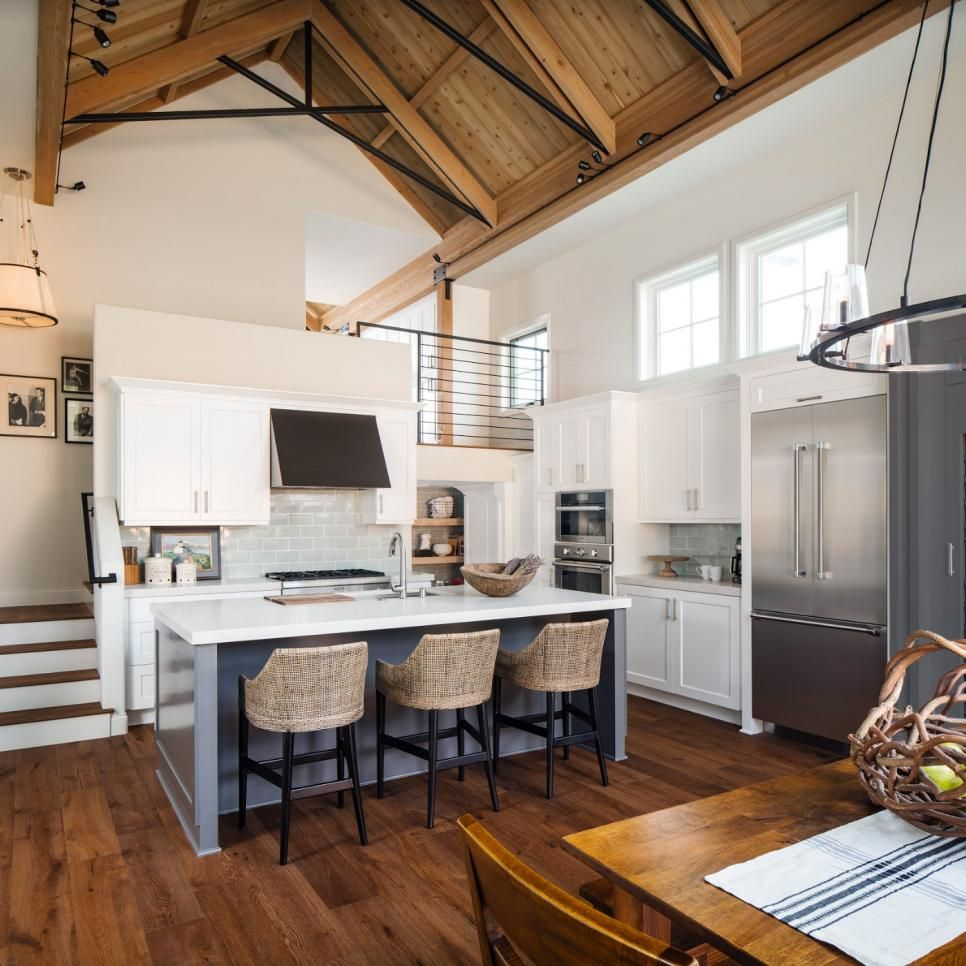 Very Small Kitchen Ideas Pictures Tips From Hgtv: Open Concept Kitchen, Small House
