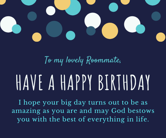 Quirky Birthday Wishes For Roommate Best Housemate Birthday Wishes Happy Birthday Wishes Quotes Haooy Birthday Wishes Birthday Wishes For Friend