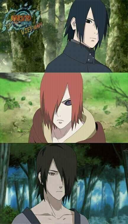 Haha :)) Same hairstyle of Nagato, adult Sasuke and ...