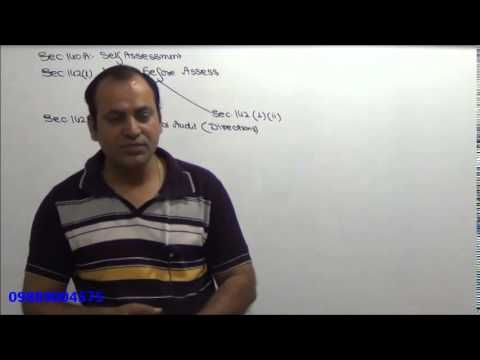 Income Tax - AY 15-16 - Assessment Procedure - Lecture 1