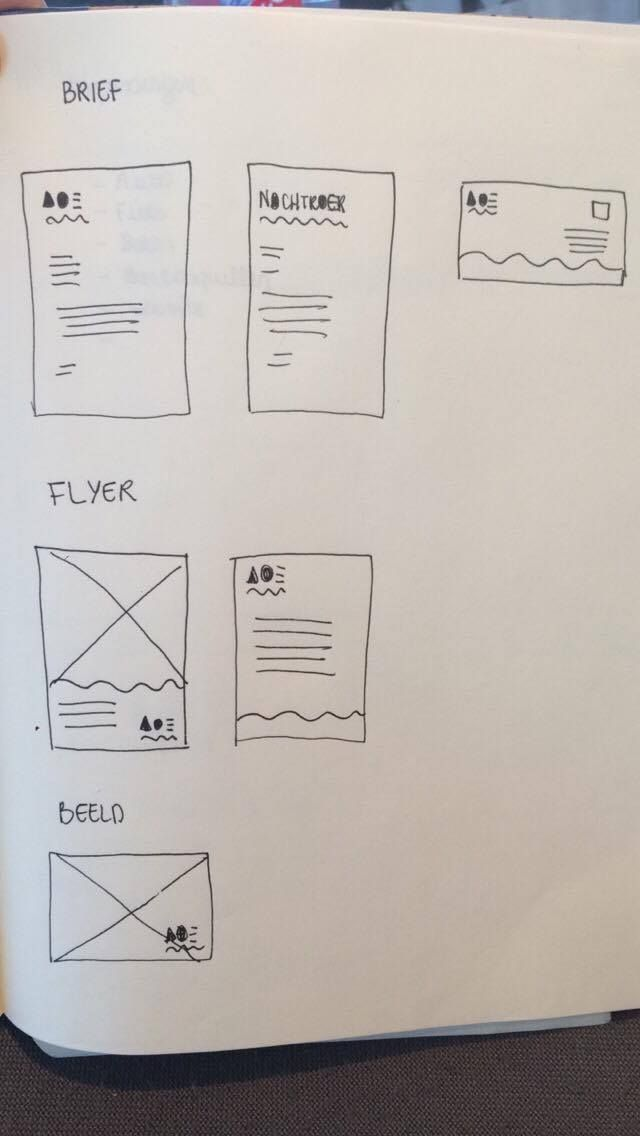 Layout Brief Flyer Beeld Grafisch Design 4 Pinterest