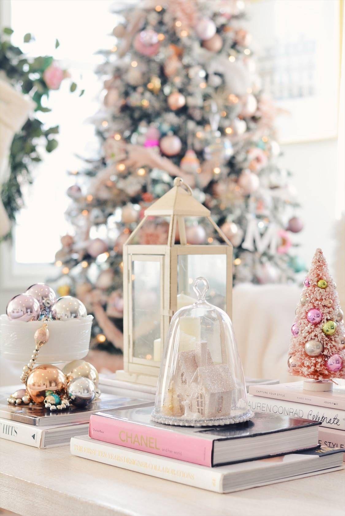 Elegant Christmas Pink Christmas Tree Decor The Pink Dream Pink Christmas Pink Christmas Decorations Pink Christmas Tree Decorations