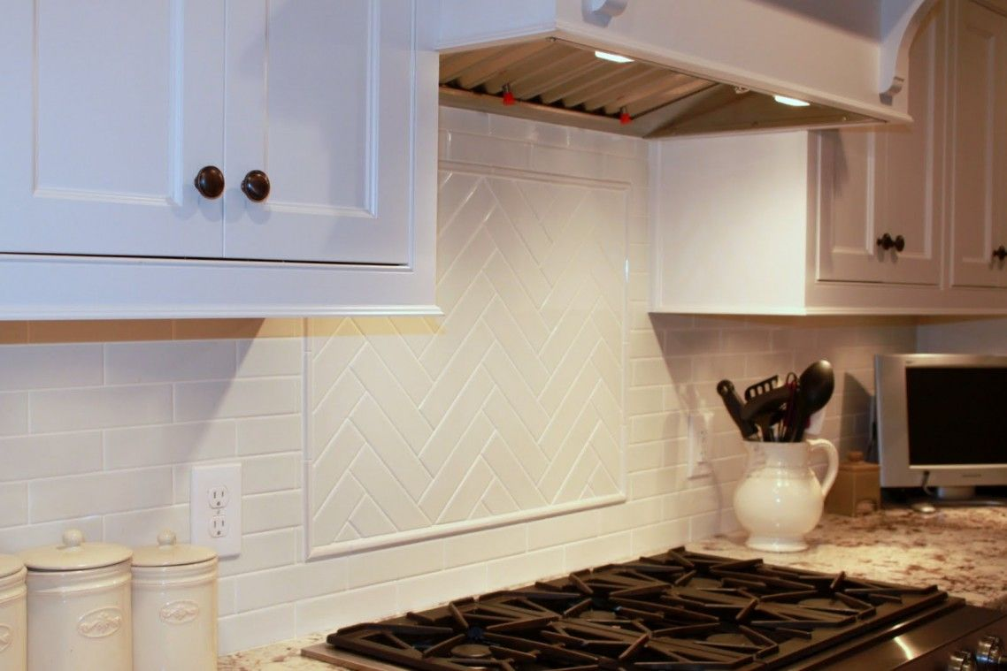 Kitchen Backsplash Made From Ream Subway Tile With A Slight Crackle ...