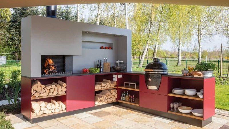 Outdoorküche Napoleon Medan : Freiluftküche outdoor küchen hico feuerland gränichen