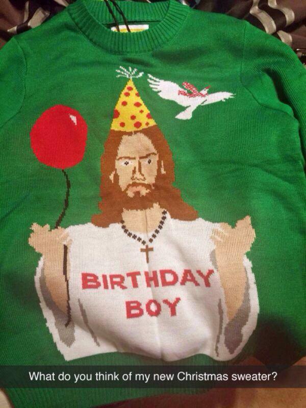 Happy birthday Jesus! (BAM)