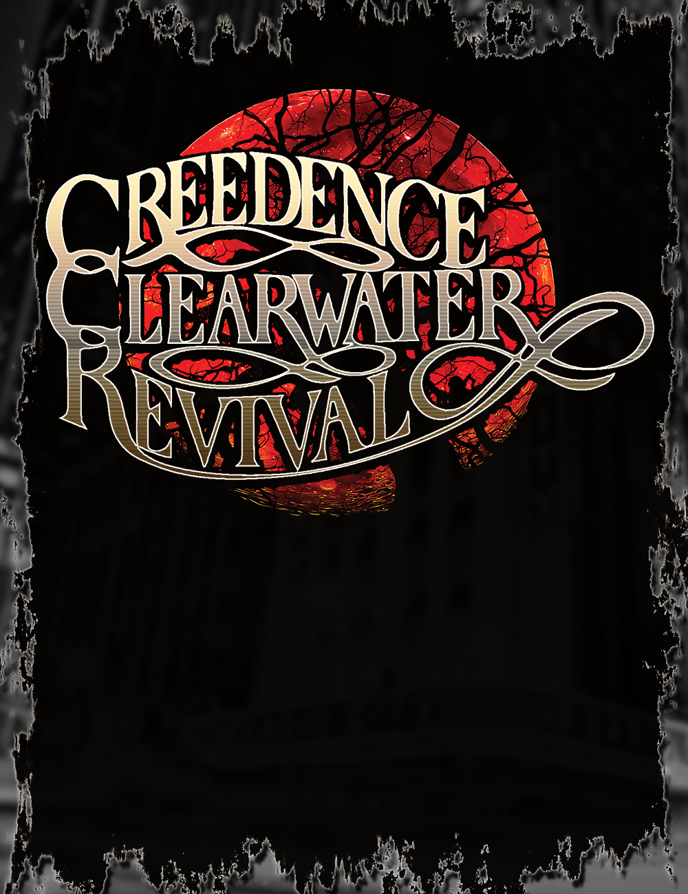 Creedence Clearwater Revival T-Shirt | Gig Poster in 2019