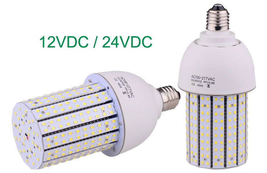 Dc 12v Dc 24v 30w Led Corn Light Bulbs Equivalent 100w Hid Lamps Lamp Street Lamp Energy Saving Projects