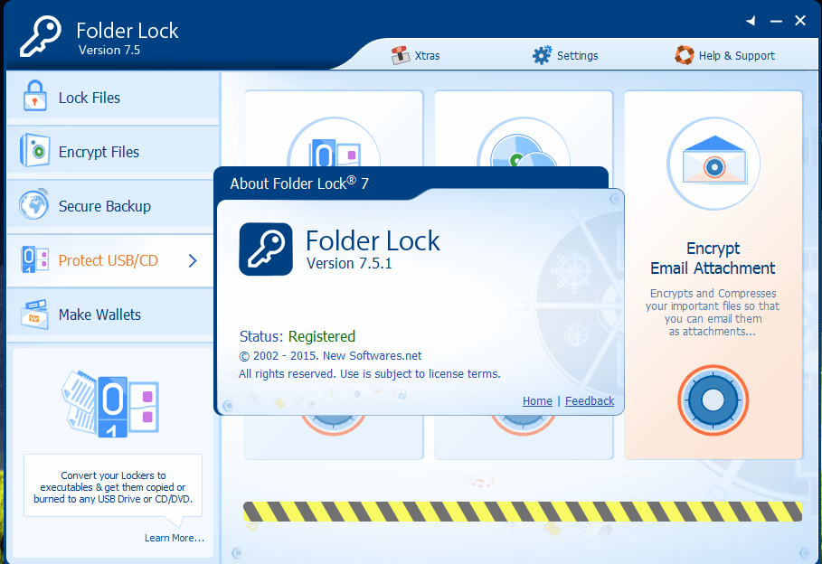 folder lock 7.6.1 serial number and registration key