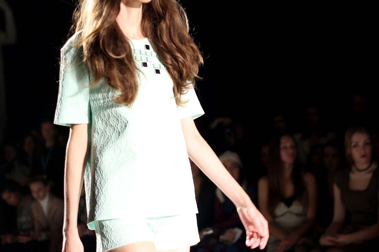 Lublu Kira Plastinina Ss14 Fashion Show Picture By Adletfashion Aqua Pixel Top Moscow Russia S Izobrazheniyami