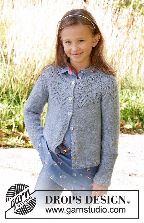 Agnes / DROPS Children 34-9 - Kostenlose Strickanleitungen von DROPS Design