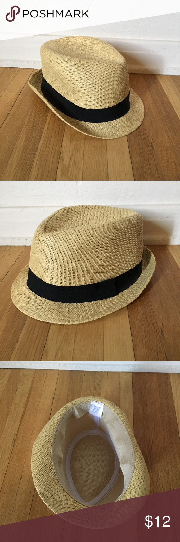 7dae45edb Selling this Jason Mraz Style Fedora Straw Hat on Poshmark! My ...
