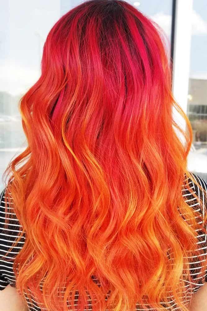25 Eye Catching Ideas Of Pulling Of Orange Hair Today Hair Color Orange Hair Styles Pink And Orange Hair