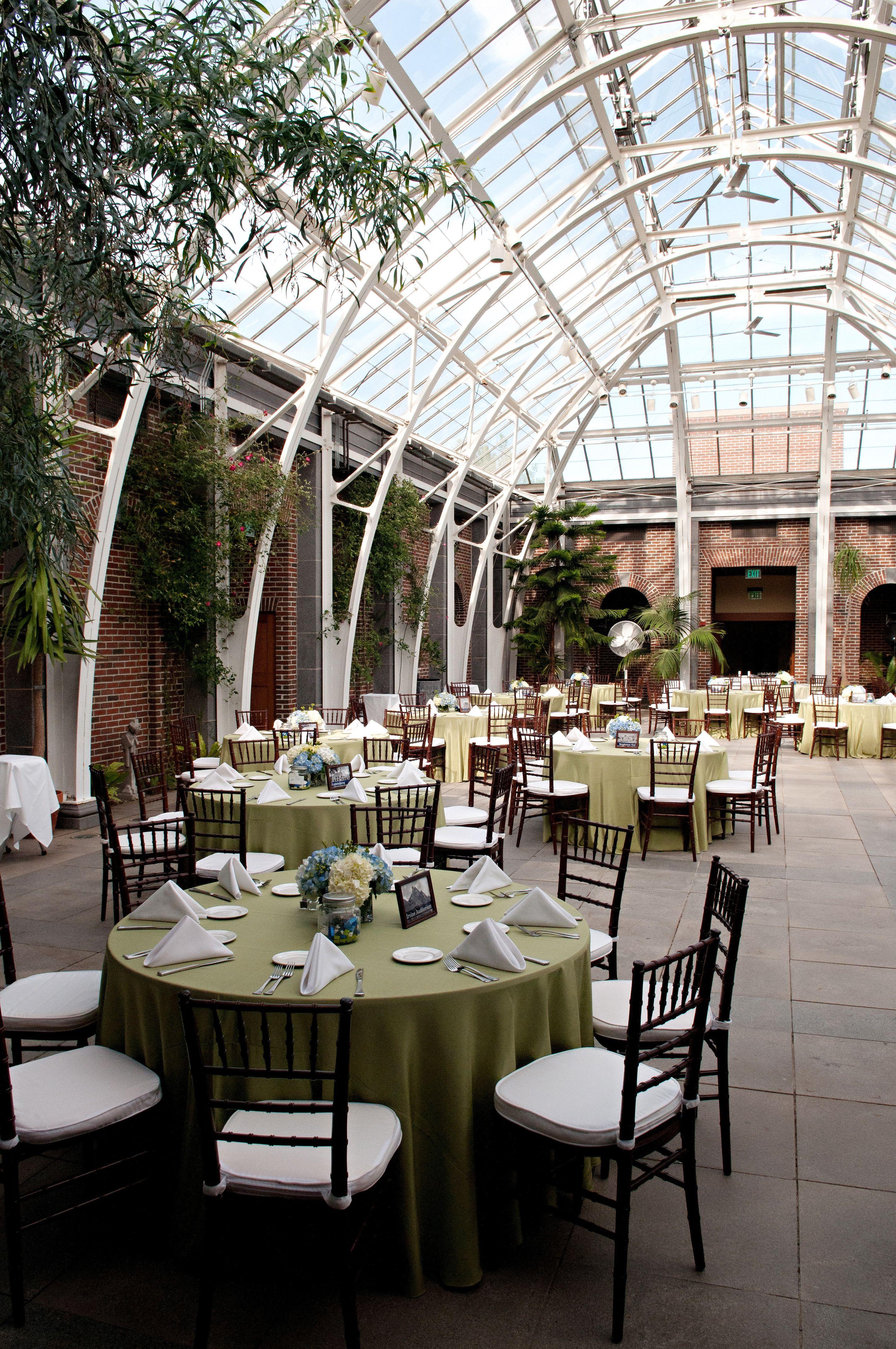 Tower Hill Botanical Garden In Boylston Ma Wedding Reception Centerpiece And Table Design