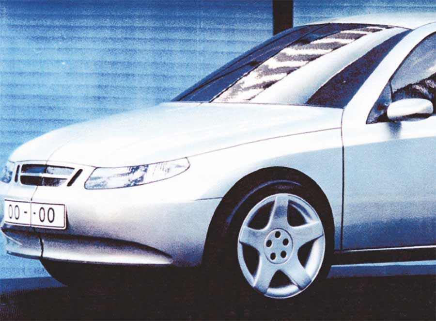 Saab 9200 – The SAAB Compact Car Project That Was Stuck in The Development Phase