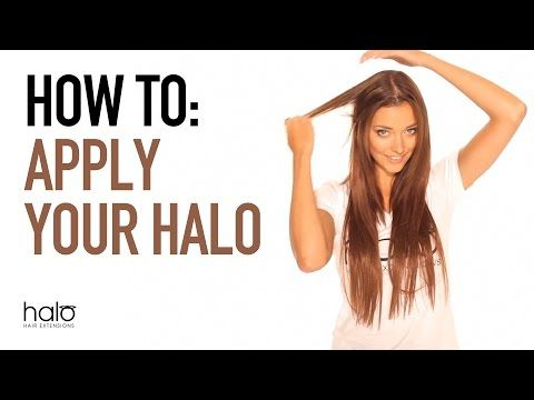 How Easy Is It To Apply Halo Hair Extensions Halo Hair Halo Hair Extensions Hair Extensions Best