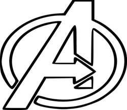 Spectacular Superhero Logos Coloring Pages