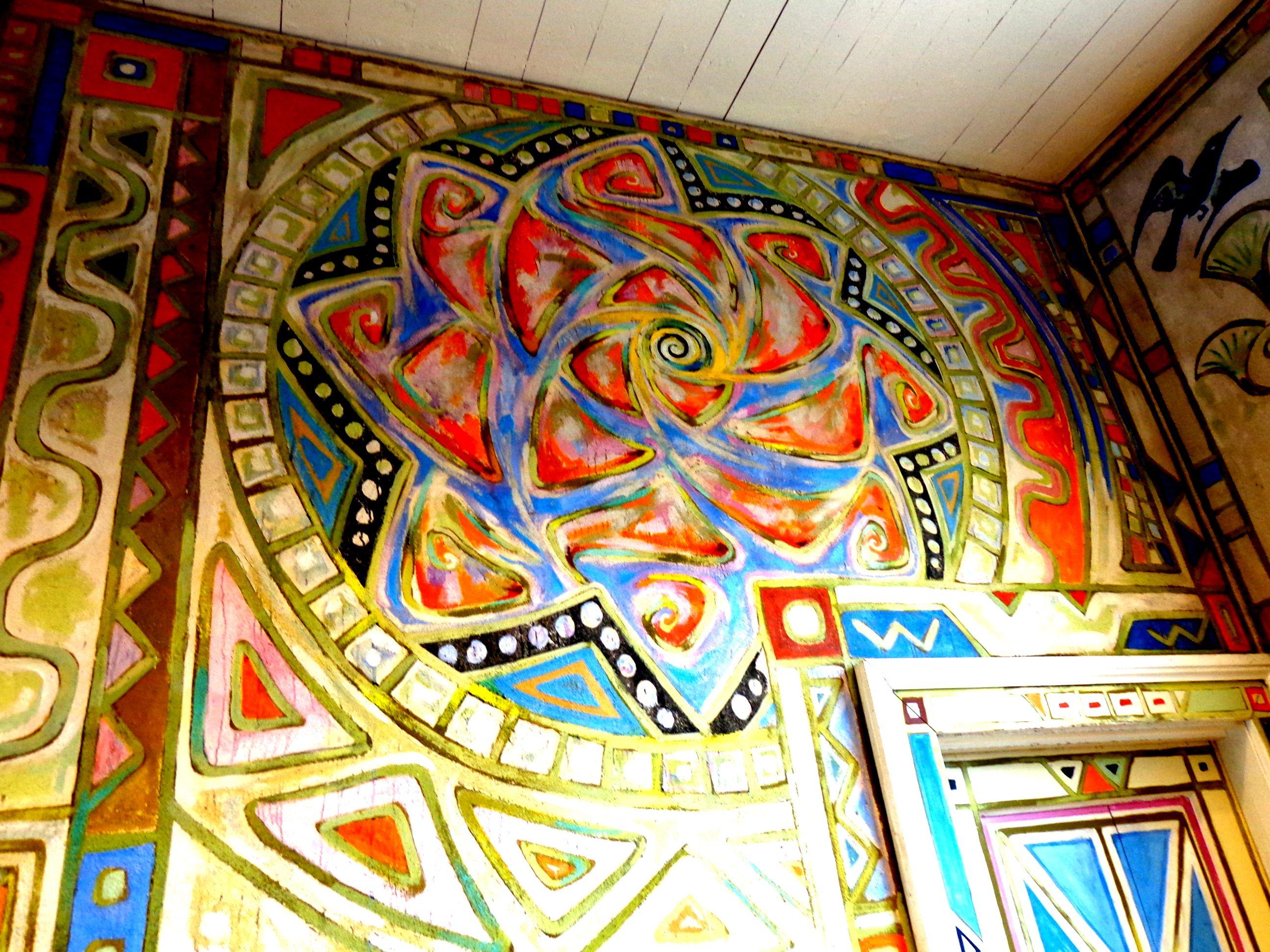 Ocean Springs Community Center Wall Murals By Walter Anderson