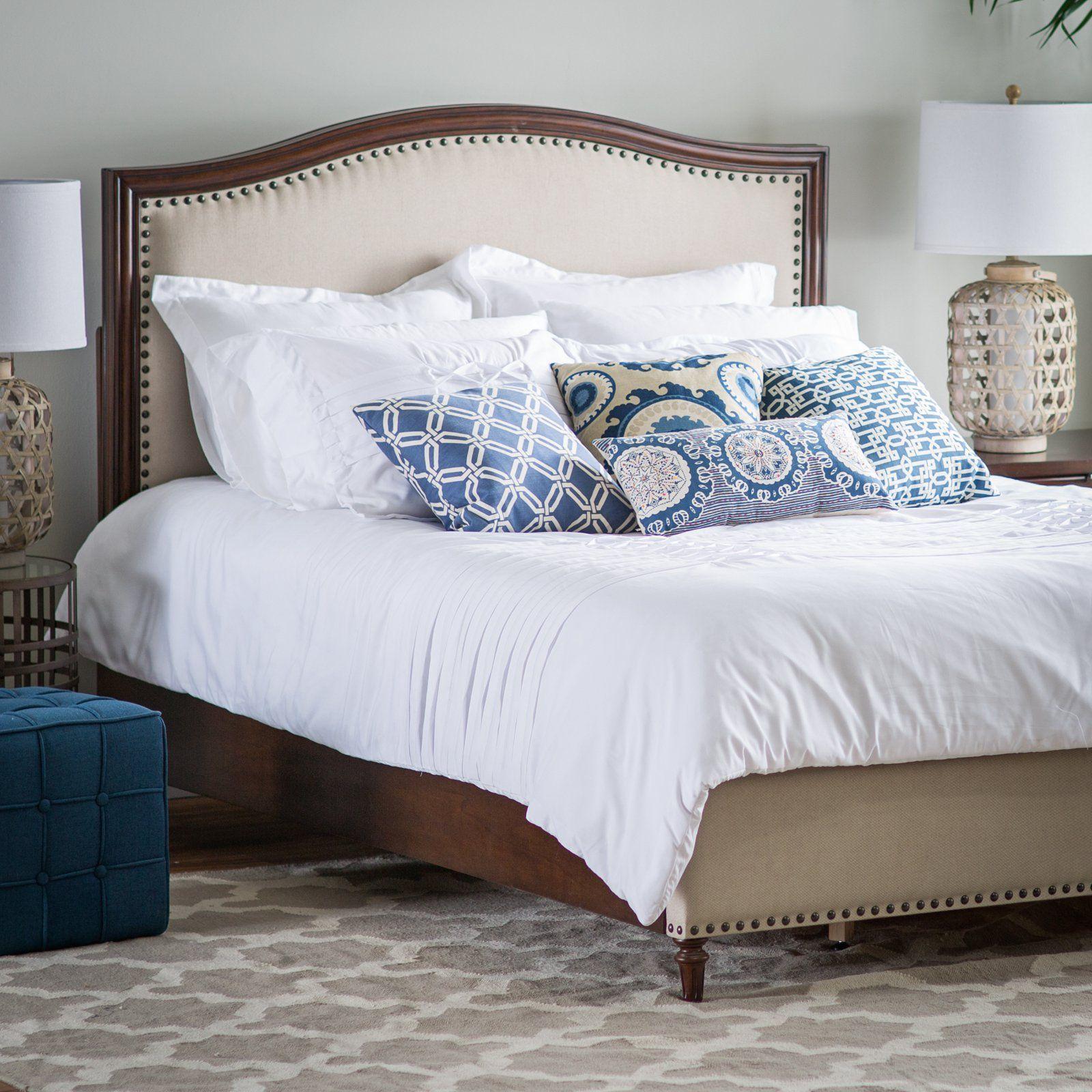 Have to have it. Belham Living Halstead Upholstered Bed