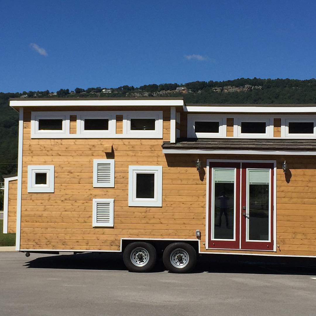"""Now is your chance to tour the beautiful """"Nooga Blue Sky"""" tiny house made by Tiny House Chattanooga."""