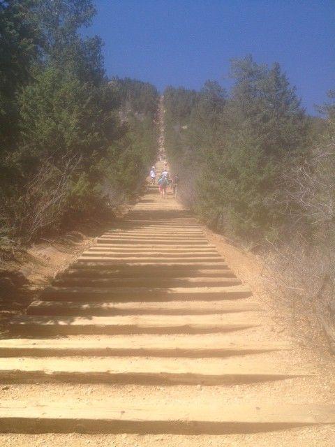 Manitou Incline   Colorado Springs. Killer Stairs!