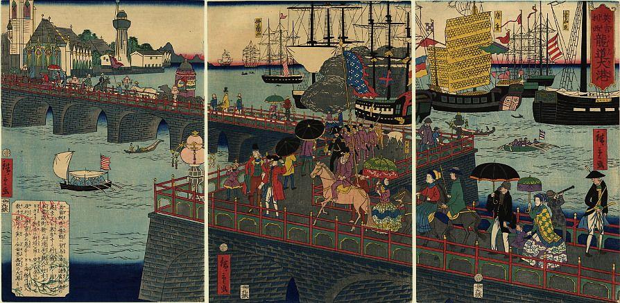 The Great Port of London, Hiroshige II